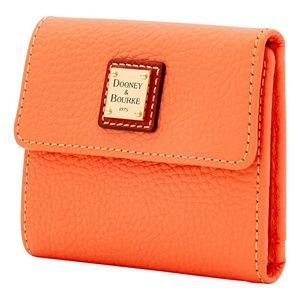 Dooney & Bourke Bags - Dooney & Bourke Leather Small Flap WALLET NWT